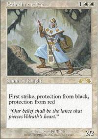 Paladin en-Vec Magic Card