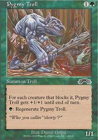 Pygmy Troll Magic Card