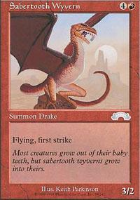 Sabertooth Wyvern Magic Card