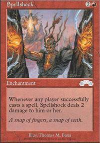Spellshock Magic Card