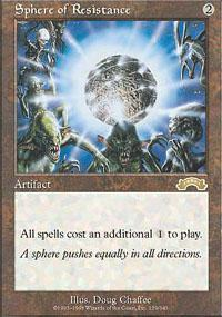 Sphere of Resistance Magic Card
