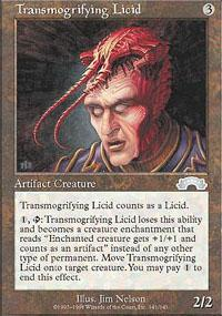 Transmogrifying Licid Magic Card