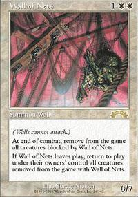 Wall of Nets Magic Card