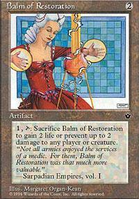 Balm of Restoration Magic Card
