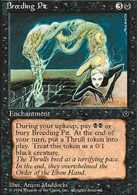 Breeding Pit Magic Card