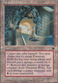 Dwarven Hold Magic Card