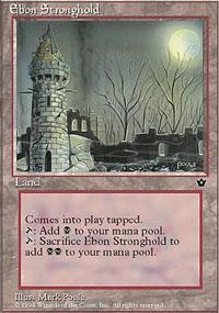 Ebon Stronghold Magic Card