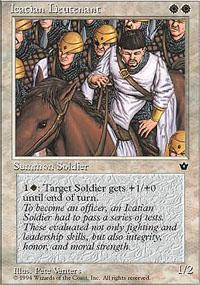 Icatian Lieutenant Magic Card
