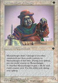 Icatian Moneychanger Magic Card