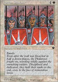Icatian Phalanx Magic Card