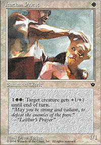 Icatian Priest Magic Card