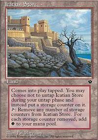 Icatian Store Magic Card