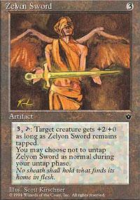 Zelyon Sword Magic Card