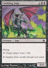 Cackling Imp Magic Card