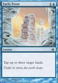 Early Frost Magic Card