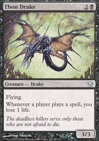 Ebon Drake Magic Card