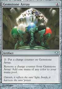 Gemstone Array Magic Card