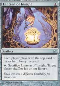 Lantern of Insight Magic Card