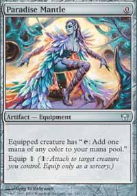 Paradise Mantle Magic Card