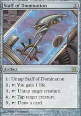 Staff of Domination + Metalworker - Magic The Gathering Combo
