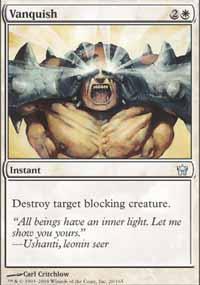 Vanquish Magic Card