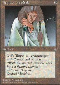 Aegis of the Meek Magic Card