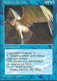 Arnjlot's Ascent Magic Card
