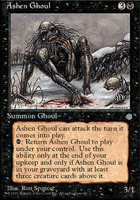 Ashen Ghoul Magic Card