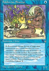 Balduvian Shaman Magic Card