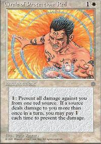 Circle of Protection: Red Magic Card