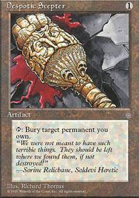 Despotic Scepter Magic Card