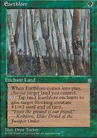 Earthlore Magic Card
