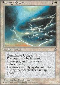 Energy Storm Magic Card