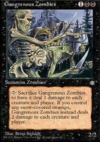 Gangrenous Zombies Magic Card
