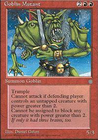 Goblin Mutant Magic Card