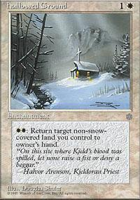 Hallowed Ground Magic Card