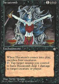 Hecatomb Magic Card