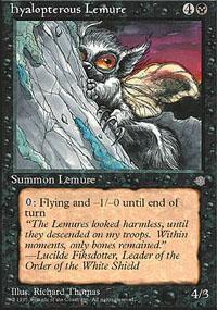 Hyalopterous Lemure Magic Card