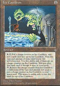 Ice Cauldron Magic Card