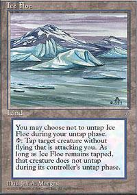 Ice Floe Magic Card