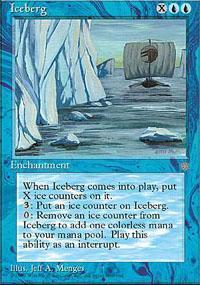 Iceberg Magic Card