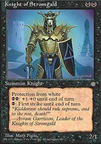 Knight of Stromgald Magic Card