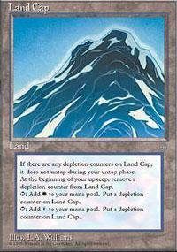 Land Cap Magic Card