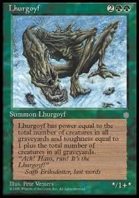 Lhurgoyf Magic Card