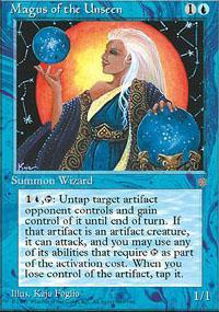 Magus of the Unseen Magic Card