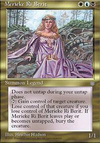 Merieke Ri Berit Magic Card