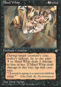 Mind Whip Magic Card