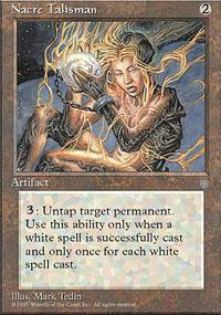 Nacre Talisman Magic Card