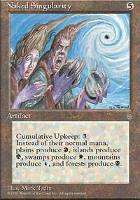 Naked Singularity Magic Card