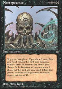 Necropotence Magic Card